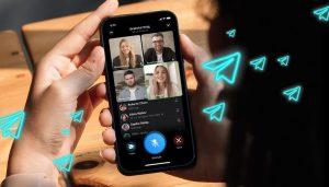 Telegram group video call