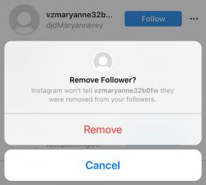 Instagram privacy settings