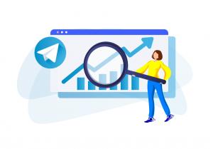 Telegram groups search function