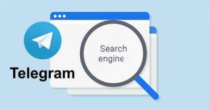 Telegram groups search option